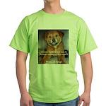Make it Stop 5 Green T-Shirt