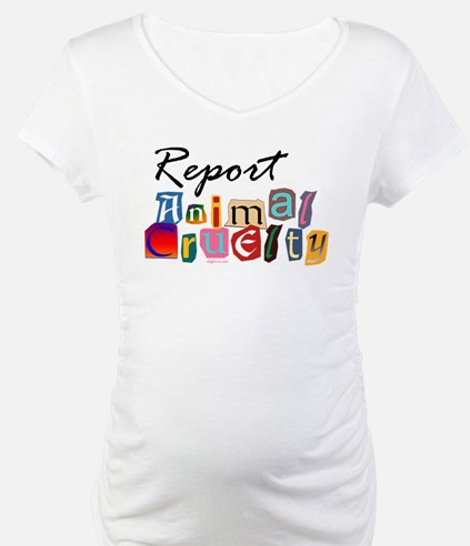 Report Animal Cruelty Shirt