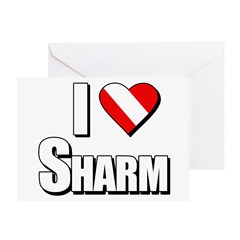 https://i3.cpcache.com/product/231660701/scuba_i_love_sharm_greeting_card.jpg?height=240&width=240