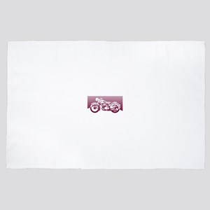 Smooth Motorcycle 4' x 6' Rug
