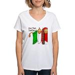 Italian Now That's Italian Women's V-Neck T-Shirt