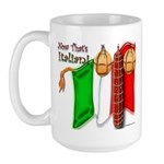 Italian Now That's Italia 15 oz Ceramic Large Mug