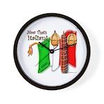 Italian Now That's Italian Wall Clock