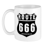 Route 666 Mug