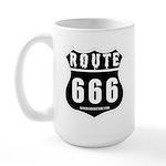 Route 666 Large Mug