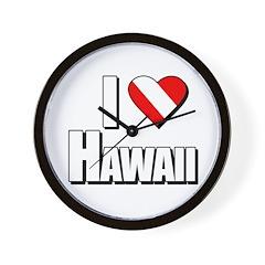 https://i3.cpcache.com/product/231670688/scuba_i_love_hawaii_wall_clock.jpg?side=Front&height=240&width=240