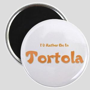 I'd Rather Be...Tortola Magnet
