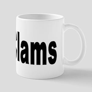 I Love Clams for Clam Lovers Mug