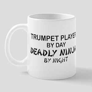 Trumpet Player Deadly Ninja Mug