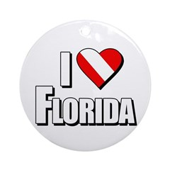 https://i3.cpcache.com/product/231672443/scuba_i_love_florida_ornament_round.jpg?side=Front&height=240&width=240