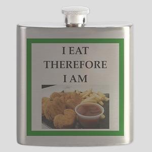 Chicken nuggets Flask