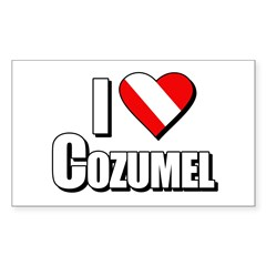 https://i3.cpcache.com/product/231673623/scuba_i_love_cozumel_rectangle_decal.jpg?side=Front&color=White&height=240&width=240