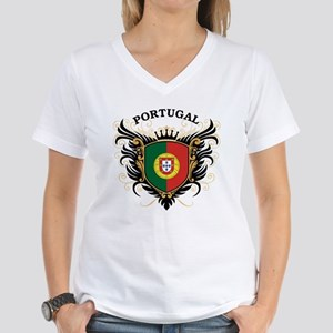 Portugal Women's V-Neck T-Shirt