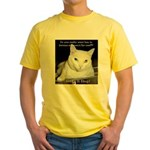 Make it Stop 6 Yellow T-Shirt