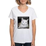 Make it Stop 6 Women's V-Neck T-Shirt