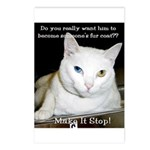 Make it Stop 6 Postcards (Package of 8)