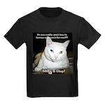 Make it Stop 6 Kids Dark T-Shirt