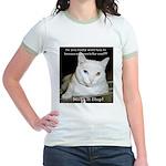 Make it Stop 6 Jr. Ringer T-Shirt