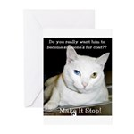 Make it Stop 6 Greeting Cards (Pk of 10)