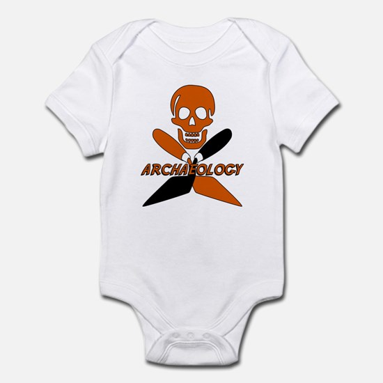 Skull & Crossed Trowels Infant Bodysuit