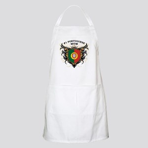 Number One Portuguese Mom BBQ Apron