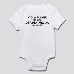Viola Deadly Ninja by Night Infant Bodysuit