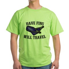 https://i3.cpcache.com/product/231686006/have_fins_will_travel_tshirt.jpg?side=Front&color=Green&height=240&width=240