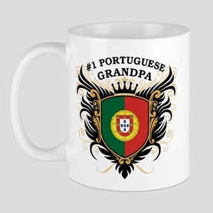 Number One Portuguese Grandpa Mug