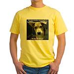 Make It Stop 7 Yellow T-Shirt