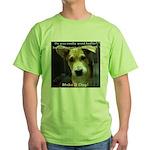 Make It Stop 7 Green T-Shirt