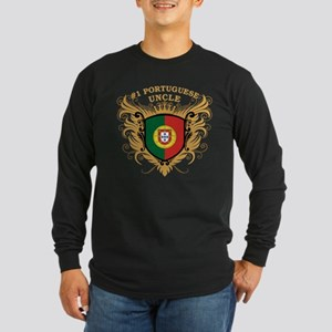 Number One Portuguese Uncle Long Sleeve Dark T-Shi