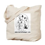Large Heavy Weight Doctor Bumper Tote Bag