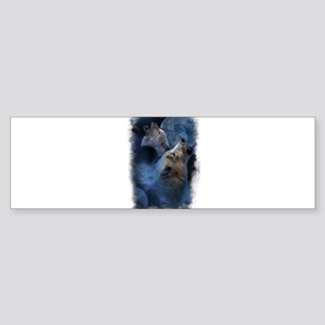 Wolf Wolves Bumper Sticker