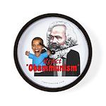 Reject Obammunism anti-Obama Wall Clock