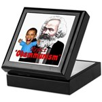 Reject Obammunism anti-Obama Keepsake Box
