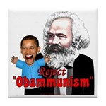 Reject Obammunism anti-Obama Tile Coaster