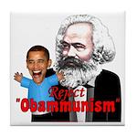 Reject Obammunism anti-Obama Tile Coaster
