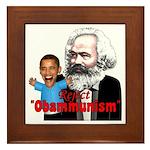 Reject Obammunism anti-Obama Framed Tile