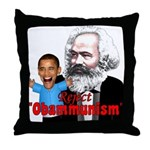 Reject Obammunism anti-Obama Throw Pillow