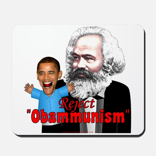 Reject Obammunism anti-Obama Mousepad