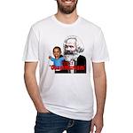 Reject Obammunism anti-Obama Fitted T-Shirt