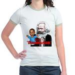 Reject Obammunism anti-Obama Jr. Ringer T-Shirt