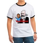 Reject Obammunism anti-Obama Ringer T