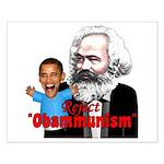 Reject Obammunism anti-Obama Small Poster