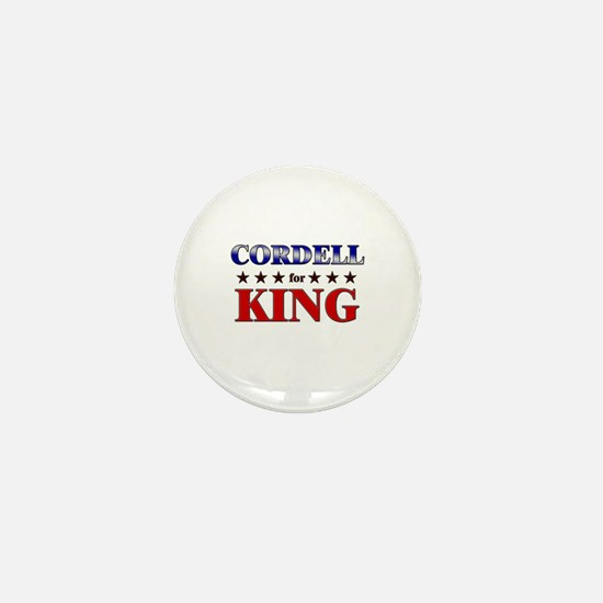 CORDELL for king Mini Button