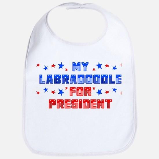 Labradoodle PRESIDENT Bib