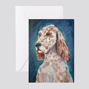 An English Setter Greeting Cards (Pk of 10)
