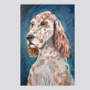 An English Setter Postcards (Package of 8)