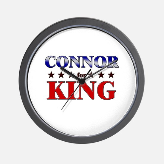 CONNOR for king Wall Clock