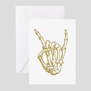 Rock in Bone Greeting Cards (Pk of 10)